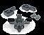 Sistema de Porta de Correr RO 65 com Guia Agility Plus Basic para 1 Porta 60Kg - Imagem 1
