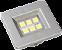 Luminaria Retangular 35mm 6 Leds - Imagem 1