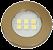Luminaria Circular 46mm 6 Leds - Imagem 1