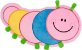 Almofada infantil centopéia - Imagem 1