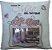 Almofada Mãe rosas com porta retrato - Imagem 1