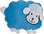 Almofada infantil bichinhos, Ovelha Azul - Imagem 1