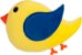 Almofada infantil passarinho - Imagem 1
