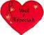 Almofada coração Você é especial P - Imagem 1