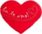 Almofada coração Eu te amo M - Imagem 1