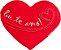 Almofada coração Eu te amo G - Imagem 1