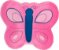 Almofada borboleta rosa - Imagem 1
