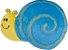 Almofada infantil caracol azul e amarelo - Imagem 1