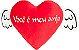 Almofada coração com asas - Você é meu anjo - Imagem 1