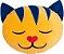 Almofada infantil Gato amarelo - Imagem 1