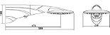 Ducha Eletrônica Advanced Turbo 7500W - 4 Temperaturas Branca - Imagem 2