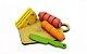 Coleção Comidinhas Em Madeira Kit Frios Para Corte - Imagem 1