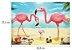 Puzzle 60 Peças Flamingos - Imagem 2