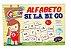 Alfabeto Silábico MDF 150 peças - Imagem 1
