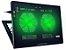 Cooler Para Notebook Warrior Power Gamer Led Verde AC267 - Imagem 2
