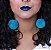 Batom Liquido Metalico Ricosti - Cor Blue - 4,5 ml - Imagem 7