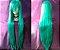 Peruca Turquesa Lisa - 100cm - Resistente ao Calor - Imagem 1