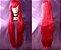 Peruca Vermelha Lisa - 100cm - Resistente ao Calor - Imagem 1
