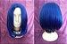 Peruca Azul Curta - Resistente ao Calor - Imagem 1