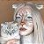 Sweety Crazy Cat Blue - 14mm - Imagem 2