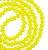 Fio de cristal facetado amarelo - 8mm - Imagem 1