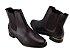 Bota Vizzano Ankle Boot Feminina Salto Baixo 3077.100 - Imagem 3