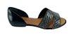 Sandalia Rasteira Dakota Bico Aberto Z5461 - Preto - Imagem 1