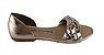 Sandalia Dakota Z7021 Tiras Trançadas Cores - Preto/cobre - Imagem 1