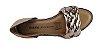 Sandalia Dakota Z7021 Tiras Trançadas Cores - Preto/cobre - Imagem 7
