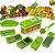Cortador Fatiador  E Descascador 10 Em 1 Nicer Dicer Cozinha Vegetais Entre Outros Alimentos  - Imagem 1