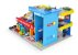 Brinquedo Car Service Postinho Garagem Mdf Hotwheels - 090 Junges - Imagem 2