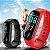 Compre 1 e Leve 2: Relógio Inteligente + 1 Pulseira + Cabo USB - Monitor Cardíaco - Conta Passos e Calorias - Frete Grátis - Imagem 1