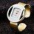 """Compre1 e Leve 2: Relógio Braçalete """"Britney"""" - Quartzo - Analógico - Pulseira Aço Inox - Frete Grátis - Imagem 1"""