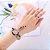 Compre 1 e Leve 2- Kit Relógio Quartz Pedra e Strass + Anel Strass - 6 Cores - Frete Grátis - Imagem 1