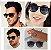 Óculos RayBan Unissex - Modelo Erika 4171- Redondo Preto - Proteção UV 400 - Polarizado Caixa + Flanela + Manual - Frete Grátis - Imagem 1