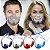 Máscara em Acrílico com Filtro em Espuma (trocável) - 5 Cores - Frete Grátis - Imagem 1