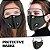 Máscara 3D com Filtro de Carvão - Viseira Removível - Não embaça - 8 Cores - Frete Grátis - Imagem 7