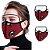 Máscara 3D com Filtro de Carvão - Viseira Removível - Não embaça - 8 Cores - Frete Grátis - Imagem 6