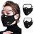 Máscara 3D com Filtro de Carvão - Viseira Removível - Não embaça - 8 Cores - Frete Grátis - Imagem 4