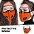 Máscara 3D com Filtro de Carvão - Viseira Removível - Não embaça - 8 Cores - Frete Grátis - Imagem 2