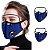 Máscara 3D com Filtro de Carvão - Viseira Removível - Não embaça - 8 Cores - Frete Grátis - Imagem 5