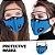 Máscara 3D com Filtro de Carvão - Viseira Removível - Não embaça - 8 Cores - Frete Grátis - Imagem 3