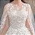 """Vestido de Noiva """"Romantic"""" Bordado com Véu - Top Quality - 10 Tamanhos - Frete Grátis - Imagem 6"""