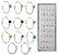 Kit com 40 ou 120 Piercing Falsos - Argola ou Strass - Envio Imediato - Frete Grátis - Imagem 7