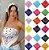 Box Showpromodia: Última Moda: Kit com 5 ou 10 Bandanas - Cores Variadas - 55cmx55cm - Envio Imediato - Imagem 2