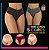 Campeã de Vendas: Kit Polifitness Colors com 5 ou 10 Calcinhas Modeladoras - Zero Barriga - Até GG  - Imagem 1