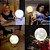 Box Olanella: - Luminária Lua Cheia 3D - 5 Cores Touch - USB + Suporte - Envio Imediato - Imagem 3