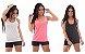 Box Showpromodia - Kit Fitness - 9 peças - 3 Leggings - 3 Regatas Nadador - 3 Tops Nadador - Até GG - Imagem 2