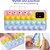 """Box Showpromodia - Capa para Celular Efeito """"Estoura Bolha"""" - Anti-estresse - Anti-impacto e Poeira - P/todos os Modelos iPhone e Samsung - Frete Grátis - Imagem 7"""