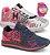 Box Showpromodia: Kit com 2 Pares de Tênis Femininos Header + Relógio de Brinde de 34 a 39 - Envio Imediato - Imagem 1